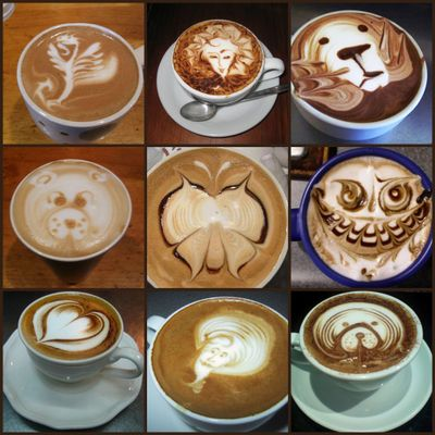 CoffeeArtCollage