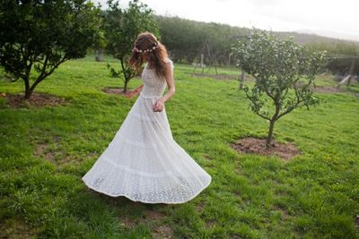 TwoVintageWeddingDresses2
