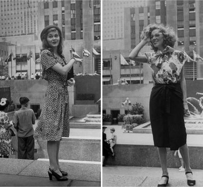 1944BeautifulGirlsInNewYorkCollage
